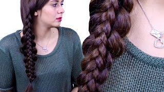 Braid Over Braid Hair Tutorial