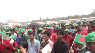 Bangla National song Guinness World Records  11:20 AM ,26 th March  2014 ( NOOR HOSSAIN )