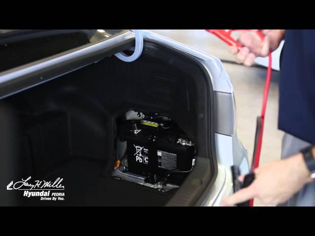 How to Jump Start Your Hyundai Sonata | Larry H Miller ...