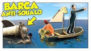 COSTRUIAMO UNA BARCA A PROVA DI SQUALO ROBOT! - Gmod ITA Funny Moments