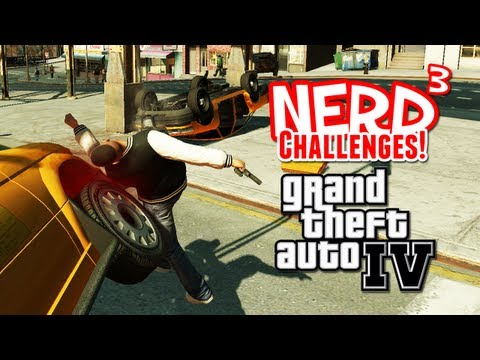Nerd³ Challenges! Carmageddon 2: The Second Car-ing - GTA IV