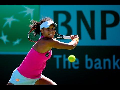 2016 BNP Paribas Open First Round | Heather Watson vs Galina Voskoboeva | WTA Highlights