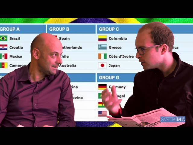 Pronostici Mondiali 2014 - Marcin Lepa, Polsat Sport insieme a Sebastiano Giorgi