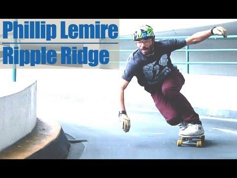 Ripple Ridge - Phillip Lemire - Landyachtz Longboard