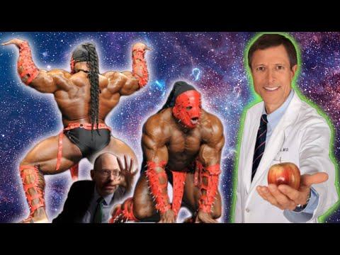 Dr. Neal Barnard self destructs, says Meat is worse than Alcohol  |  Kai Greene sells Vegan lies
