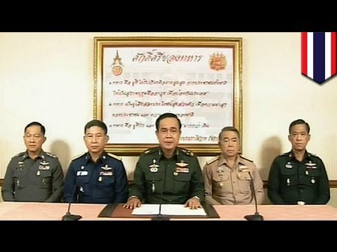 Thailand, sinakop ng military coup, dalawang araw matapos masailalim sa martial law!