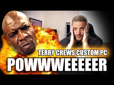 Where is the Terry Crews Custom PC?!?