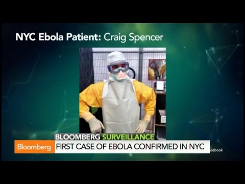 Ebola in New York City: Doctor is First to be Diagnosed with Virus