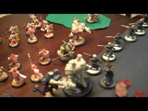 26 Pt Warmachine Batrep w/ TonyPonyF - Cygnar vs Menoth- Part2