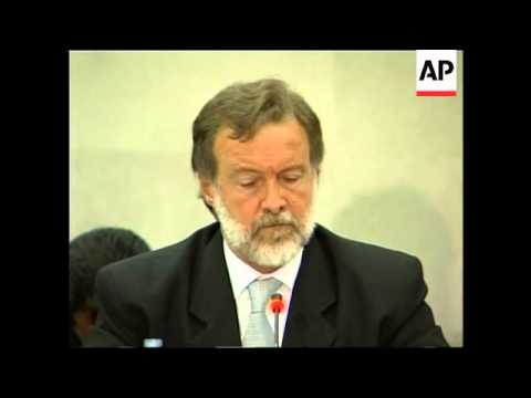 Foreign Ministers of Mexico and Argentina hold joint presser