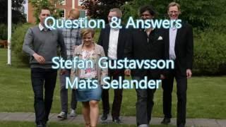 Q & A med Stefan och Mats (svar till nyateisterna)