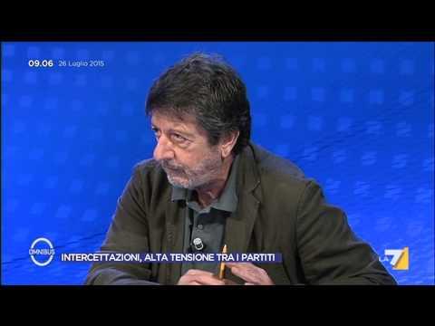 Omnibus - La rabbia di Renzi per l'immagine dell'Italia (Puntata 26/07/2015)