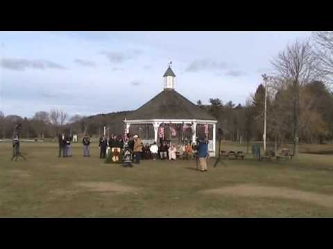 2010 Wreaths Across America - Hamilton, MA - Patton Park Wreath Ceremony