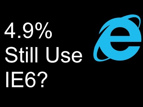 Browsing The Web In Internet Explorer 6