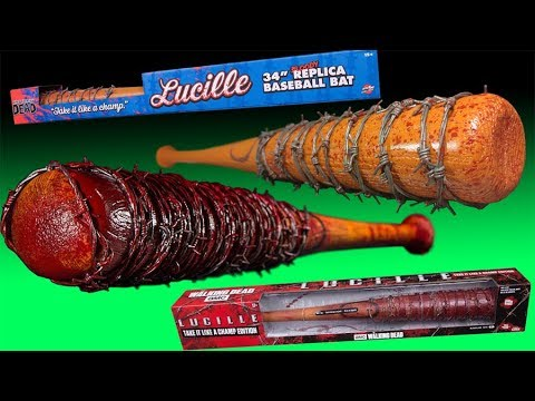 The Walking Dead TV and Comic Lucille Replica Review and Comparison