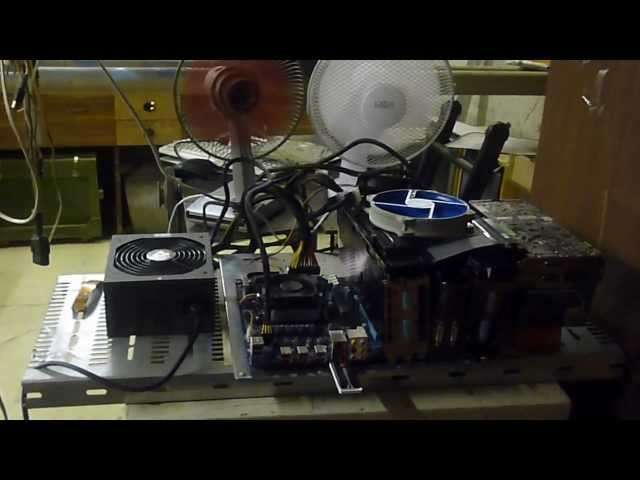 Bitcoin Mining 2x7970+2x5770 specially for Butterfly Labs