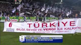 Week.22.Besiktas.Vs.Fenerbahce.Pre-Match.2.(20.02.2011)