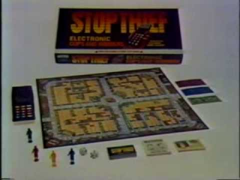 Stop Thief Board Game Stop Thief Electronic Board