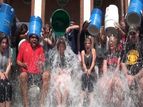 Ice Bucket: Head Master Duffy and the Lawrenceville School College Counseling team - 08/31/2014