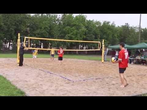 LMK-ZSChemicznych 1/4 Mistrzostw Włocławka  W Siatkówce Plażowej 2012.06.14