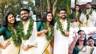 Parvathy Nambiar  Marriage At Guruvayoor Temple | Parvathy & Vinith
