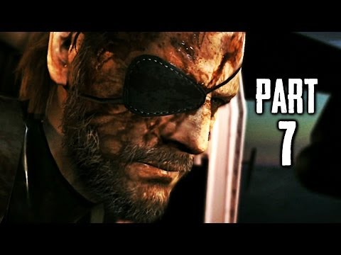 Metal Gear Solid 5 Ground Zeroes Gameplay Walkthrough Part 7 - Anti-Air (MGS5)