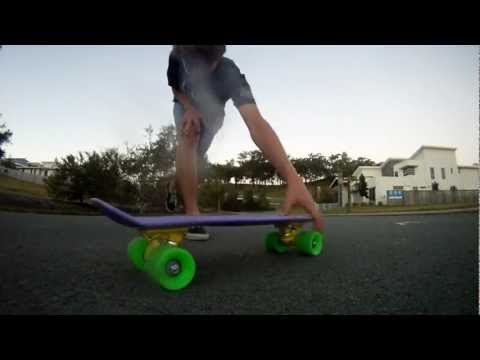 Tiger Claw on a Penny Board [Penny Skateboard Trick]