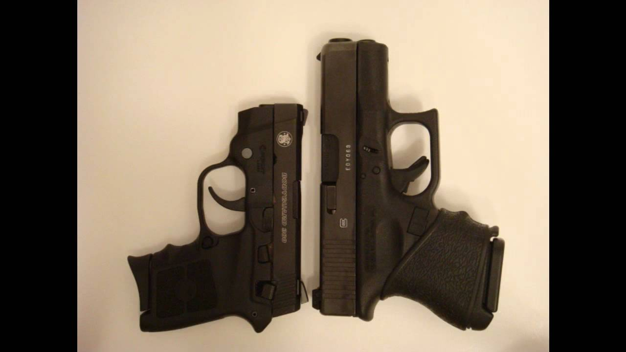 Bodyguard 380 vs...M And P Shield Vs Glock 26