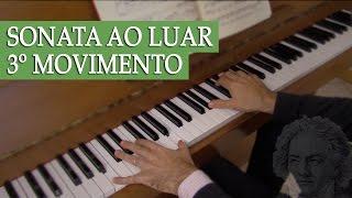 Como estudar a Sonata ao Luar de Beethoven (3º Movimento)