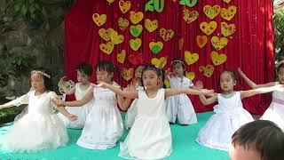 Bé Ong Sài Gòn - Múa Mẹ Hiền Yêu Dấu - Lớp Sunflower và lớp Rose (4-6 tuổi)