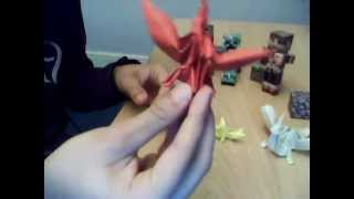 Origami, Tutorial : Faire Un Dragon
