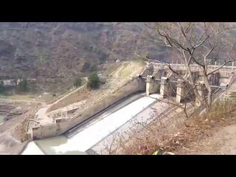 Pandoh Dam On River Beas  Aut  Mandi, Himachal