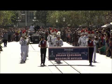 Patriots Super Bowl Heroes Disneyland Victory Parade