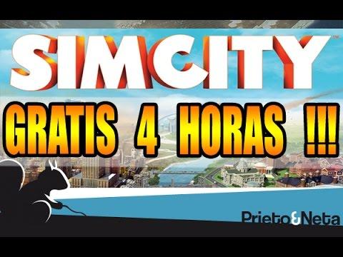 GRATIS !!! Prueba gratis durante 4 horas el nuevo SimCity !!!