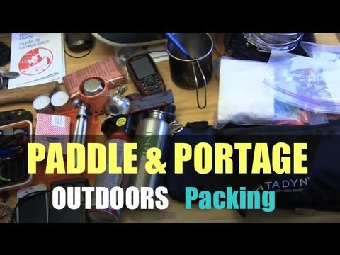 Kejimkujik Paddle & Portage - Part 1 - Packing
