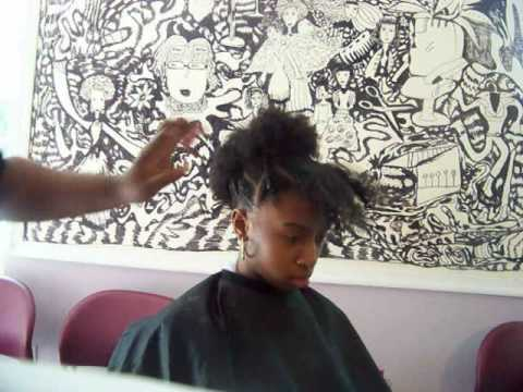 AFRO KID  tutorial part 1 (QUICK MOHAWK for KIDS or TEENS)