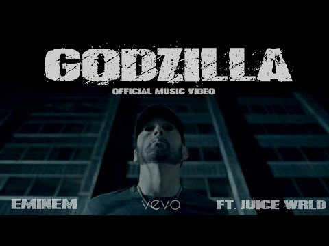 Eminem - Godzilla (OFFICIAL) ft. Juice WRLD | 4K | VEVO | CLEAN KARAOKE INSTRUMENTAL