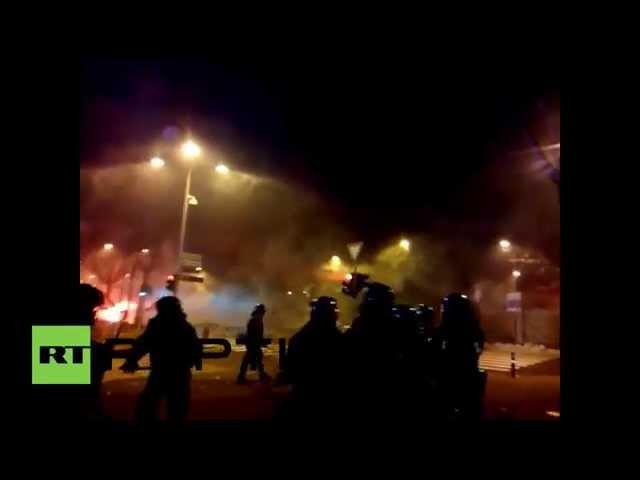 Italy: Roma-Atalanta Serie A clash erupts in violence
