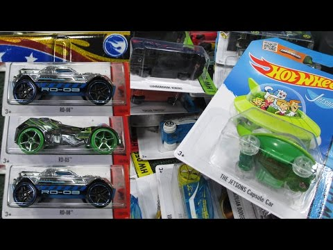 2015 D Hot Wheels Factory Sealed Case Unboxing By RaceGrooves