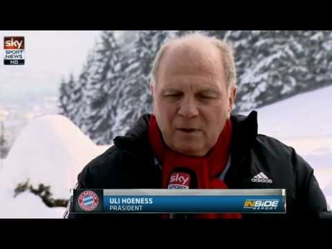 Pep Guardiola beim FCB - Uli Hoeneß im Interview - HD