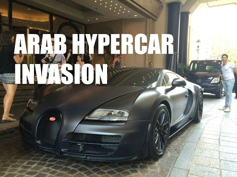 Arab Bugatti Veyron Supersport From Qatar in Beverly Hills!