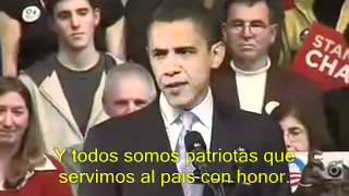Discurso de Obama en New Hampshire: el inicio del Yes we can (subtitulos español)