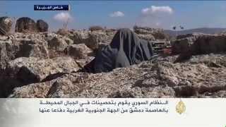 النظام السوري يحصن الجبال المحيطة بدمشق