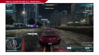 Need for Speed Most Wanted - Vido de Gameplay 4 - La Liste Most Wanted