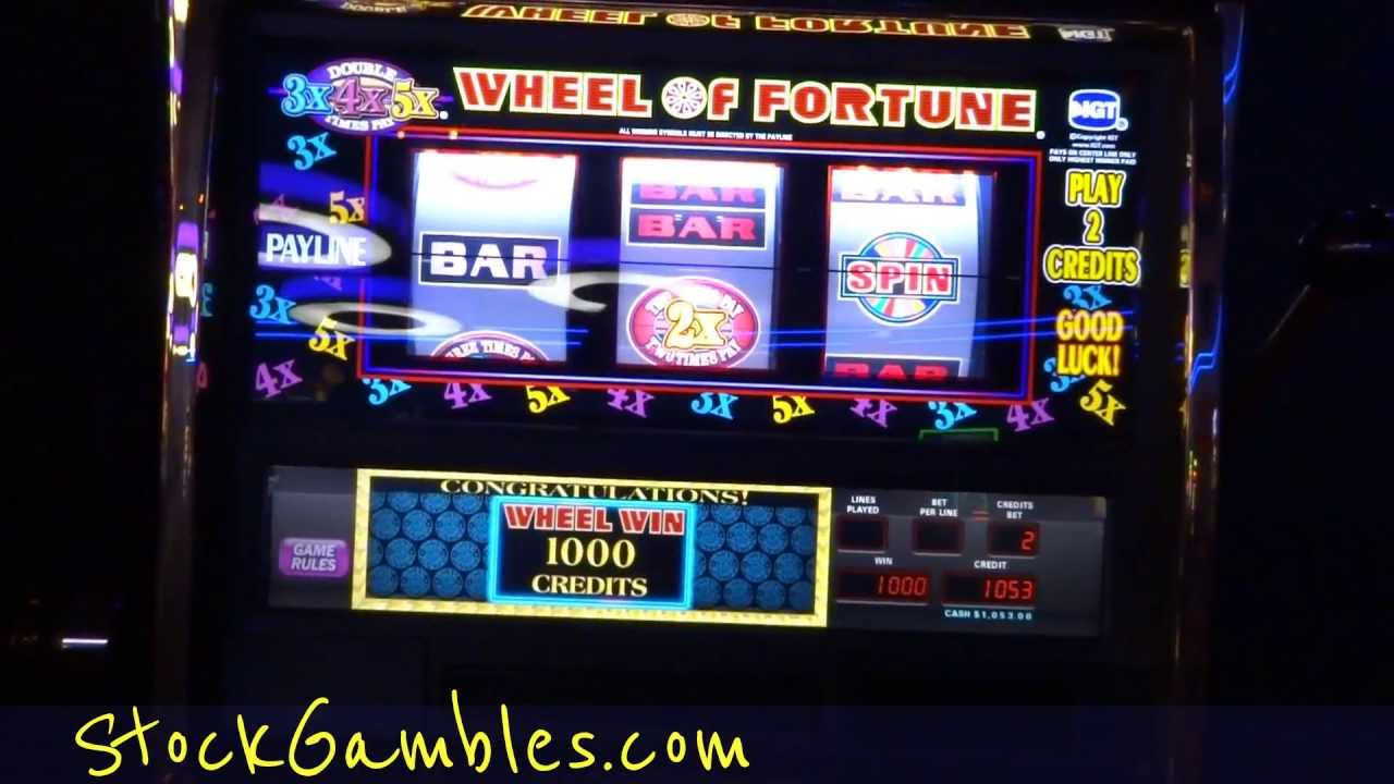 Slot machine jackpots 2018