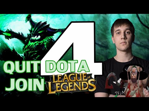 Arteezy - Best Moments #4 - QUIT DOTA JOIN LEAGUE OF LEGENDS ft Soundbord Guy