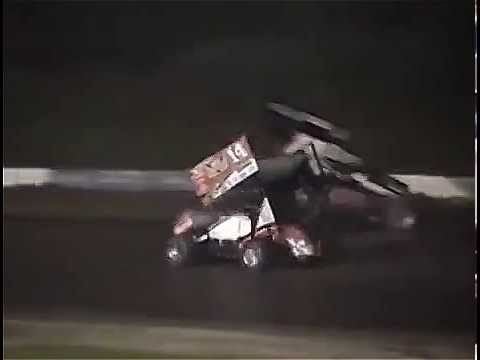 Slowed down version of Tony Stewart hitting Kevin Ward