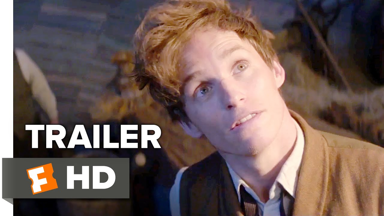 Fantastic Beasts and Where to Find Them Official Trailer 1 (2016) - Eddie Redmayne Movie