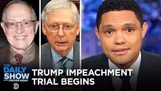 Trump's Senate Impeachment Trial - Day One | The Daily Show