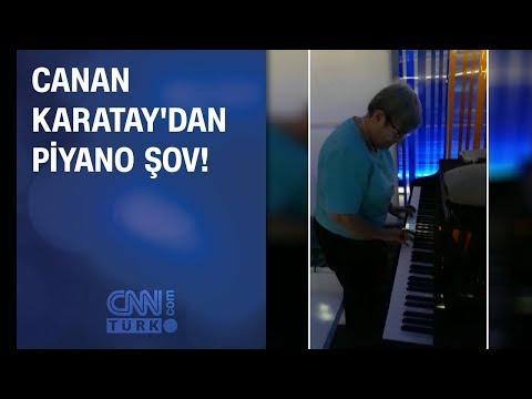 Canan Karatay'dan piyano şov!